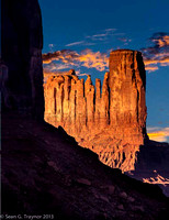 Monument Valley Composite Sunset
