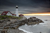 Portland Lighthouse at Dawn