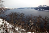 Lake Mashu in Winter